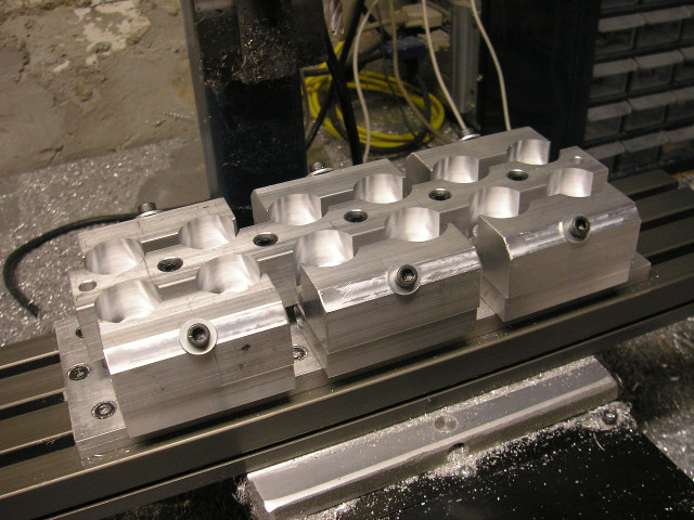 Fixture on CNC mill